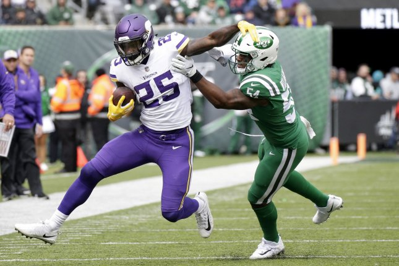Kirk Cousins Latavius Murray Lead Vikings Past Jets Upi Com