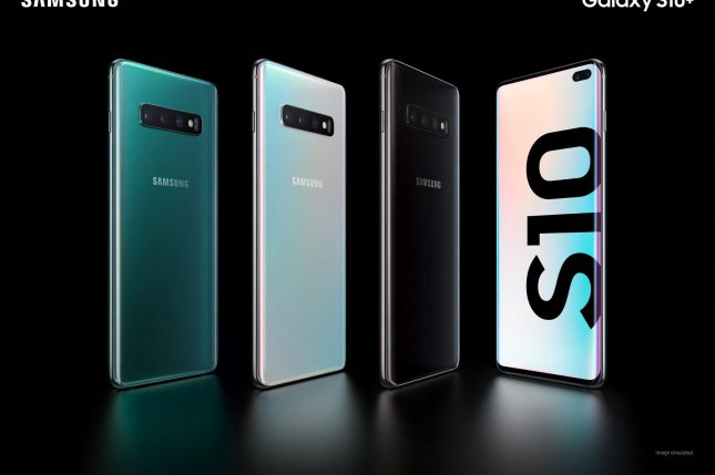 Samsung unveils the Galaxy S10 smartphone on February 20 at its UNPACKED event in San Francisco, Calif. File Photo by Samsung Electronics/UPI
