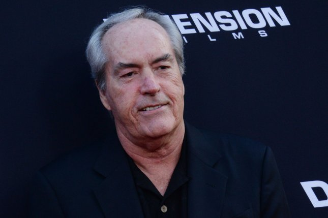 Cast member Powers Boothe attends the premiere of Sin City: A Dame to Kill For at TCL Chinese Theatre in Los Angeles on Aug.19, 2014. The actor died Sunday. File Photo by Jim Ruymen/UPI