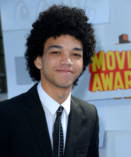 The Get Down star Justice Smith arrives for the MTV Movie Awards on April 12, 2015. The series which also starred Shameik Moore and Yahya Abdul-Mateen II, has been canceled by Netflix. File Photo by Jim Ruymen/UPI