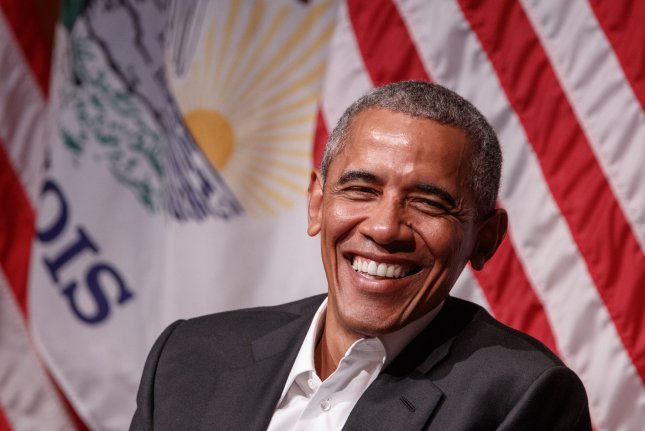 Former U.S. President Barack Obama released his annual list of favorite songs and books on Sunday. File Photo by John Gress/UPI