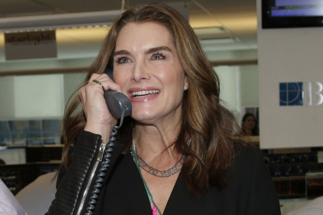 Brooke Shields attends BTIG Commissions for Charity Day on April 29, 2015. File Photo by John Angelillo/UPI