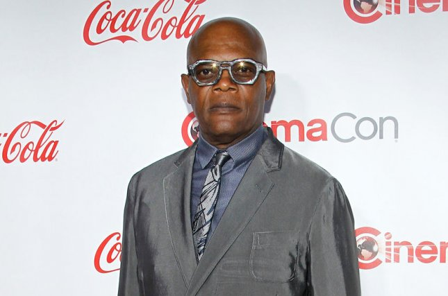 Samuel L. Jackson has been cast in Spider-Man: Far From Home alongside Cobie Smulders. File Photo by James Atoa/UPI