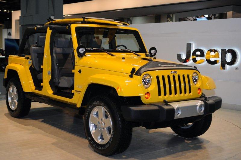 A 2010 Jeep Wrangler. UPI/Alexis C. Glenn