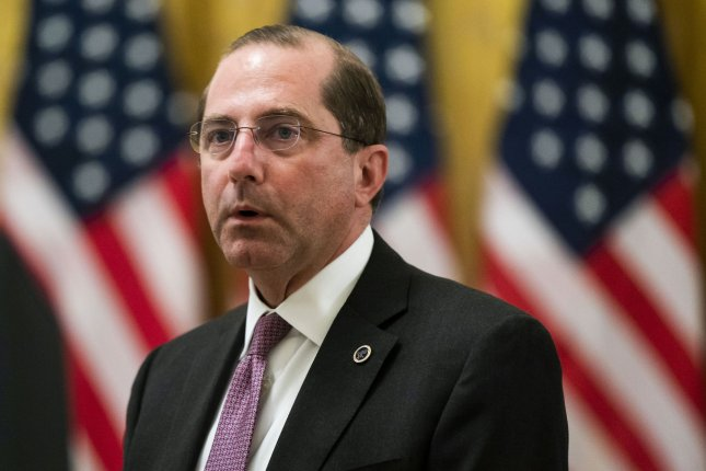 Health and Human Services Secretary Alex Azar said the window is closing for the United States to control the COVID-19 pandemic as cases surged in Florida, Texas and Arizona pushing the national total past 2.5 million. File Photo by Jim Lo Scalzo/UPI