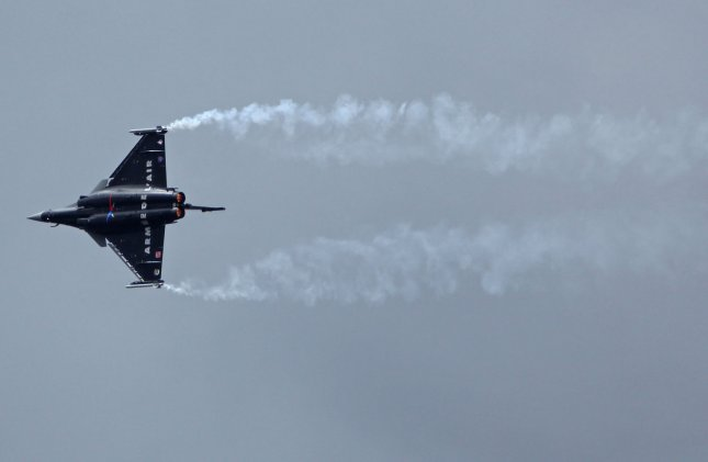 Dassault uses Libya war to boost Rafale