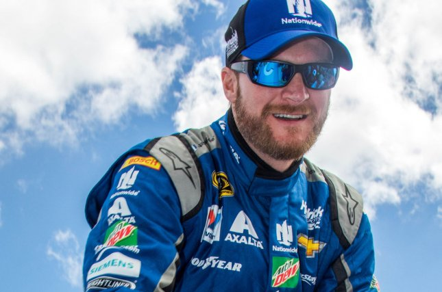 Dale Earnhardt Jr. Photo by Edwin Locke/UPI
