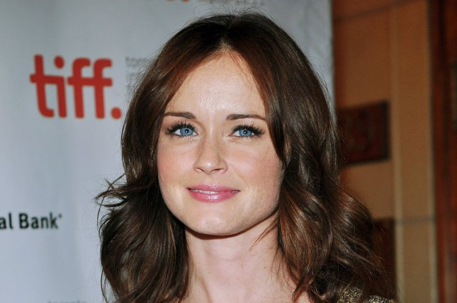 Alexis Bledel arrives for the world premiere of 'Violet & Daisy' at the Toronto International Film Festival on September 15, 2011. Bledel discussed working on Hulu's Handmaid's Tale while appearing on Late Night with Seth Meyers. File Photo by Christine Chew/UPI