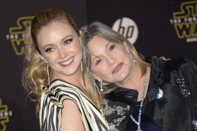 Billie Lourd reveals 'struggle' since Carrie Fisher's death