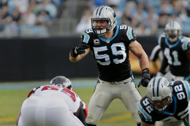 Luke Kuechly clears concussion protocol, expected to play vs Tampa Bay