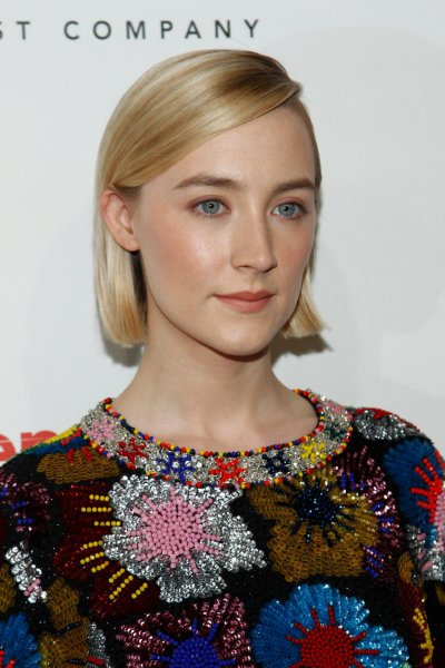 Saoirse Ronan can now be seen in the trailer for the period drama Mary Queen of Scots. File Photo by James Atoa/UPI