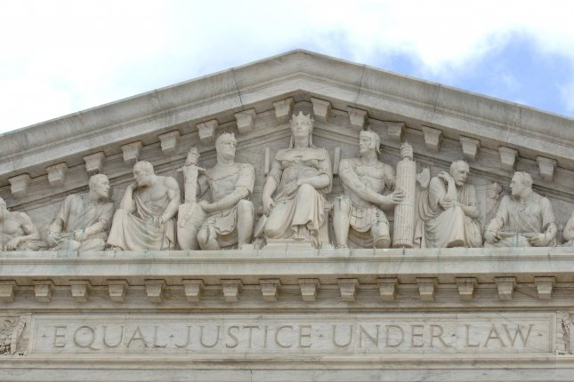 Gallup said Wednesday a new survey shows 53 percent of Americans approve of the way the U.S. Supreme Court is handling its duties -- the highest level in nearly a decade. File Photo by Kevin Dietsch/UPI