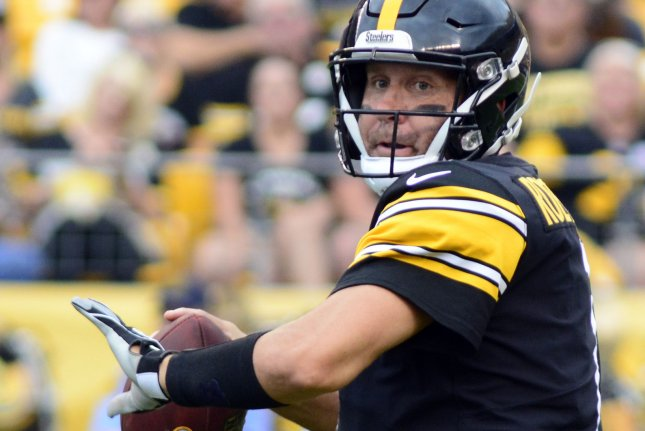 8e5cbcffd Pittsburgh Steelers quarterback Ben Roethlisberger drops back to pass  during a preseason game against the Tennessee Titans at Heinz Field in  Pittsburgh on ...