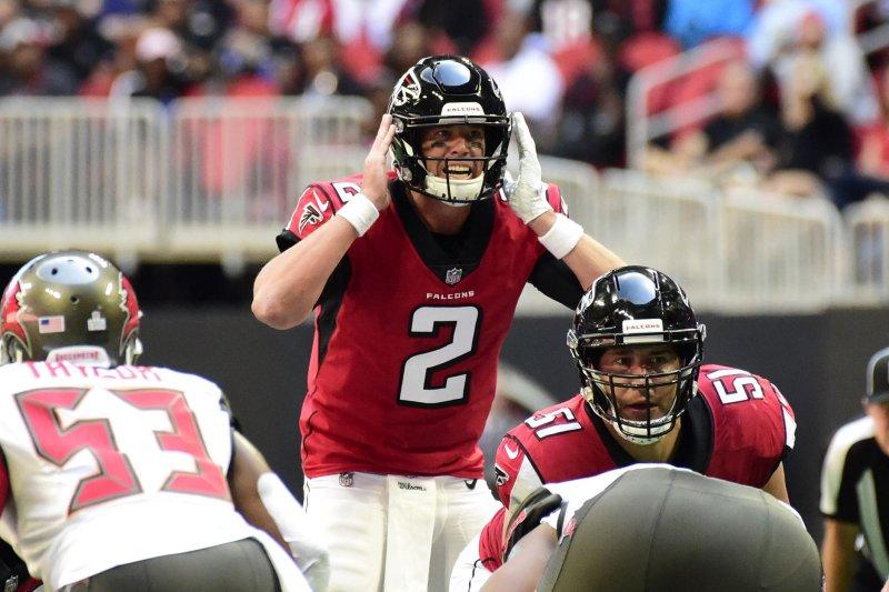 3cdbf00d Matt Ryan's play keeping Atlanta Falcons afloat - UPI.com