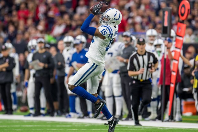 Dontrelle Inman signed a one-year deal with the Indianapolis Colts last off-season. File Photo by Trask Smith/UPI