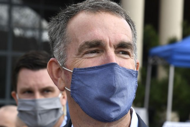 Virginia Gov. Ralph Northam signed legislation Wednesday legalizing simple marijuana possession for adults and calling for automatic expungement of past misdemeanor marijuana convictions beginning July 1. FilePhoto by Mike Theiler/UPI