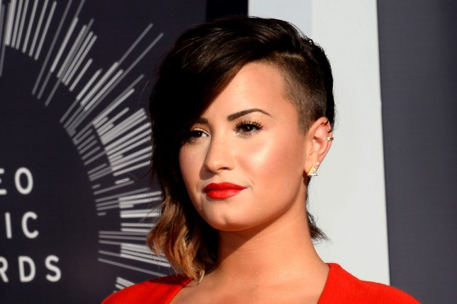 Singer Demi Lovato arrives at the 2014 MTV Video Music Awards at the Forum in Inglewood, California on August 24, 2014. File Photo by Jim Ruymen/UPI