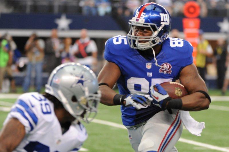 New York Giants TE Daniel Fells placed on injured reserve