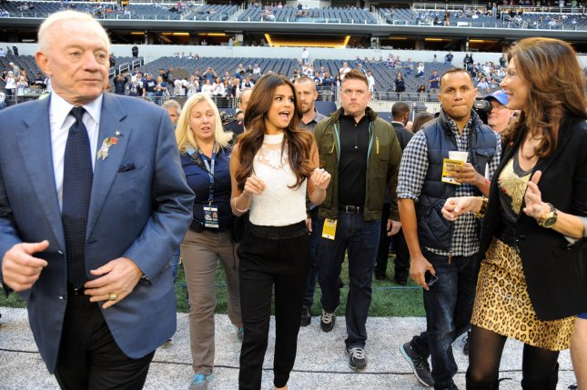 Cowboys owner Jerry Jones. UPI/Ian Halperin