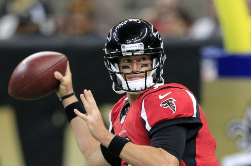 Atlanta Falcons quarterback Matt Ryan (2). Photo by AJ Sisco/UPI