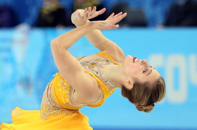 Ashley Wagner performs during the ladies' figure skating event during the Sochi Winter Olympics on February 20, 2014. File Photo by Maya Vidon-White/UPI