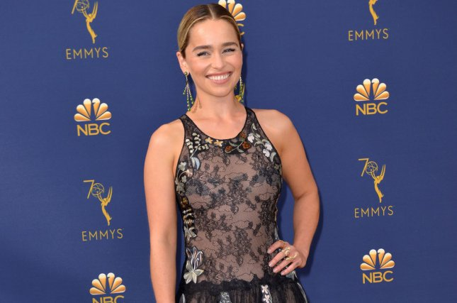 Look Emilia Clarke Gets Game Of Thrones Inspired Dragon Tattoos