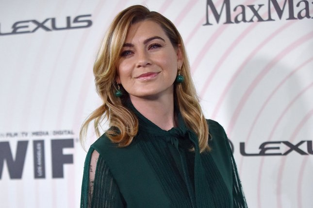 Ellen Pompeo plays Dr. Meredith Grey on Grey's Anatomy. File Photo by Christine Chew/UPI