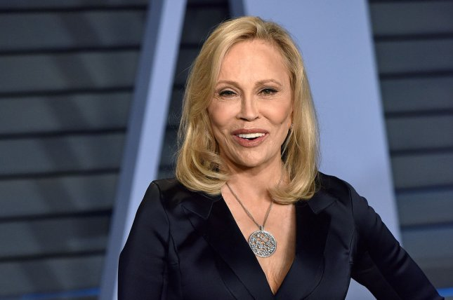 Faye Dunaway arrives for the Vanity Fair Oscar Party at the Wallis Annenberg Center for the Performing Arts in Beverly Hills, Calif., on March 4, 2018. The actor turns 80 on January 14. File Photo by Christine Chew/UPI