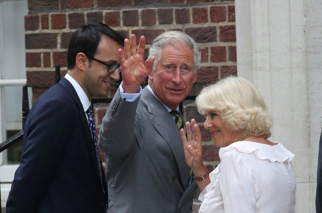 His Royal Highness Prince Charles and his wife The Duchess of Cornwall, pictured on July 23 , 2013. (UPI/Hugo Philpott)