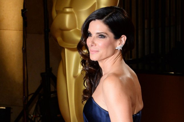 Actress Sandra Bullock spent much of her childhood in Nuremberg, Germany, and grew up speaking both English and German. UPI/Jim Ruymen
