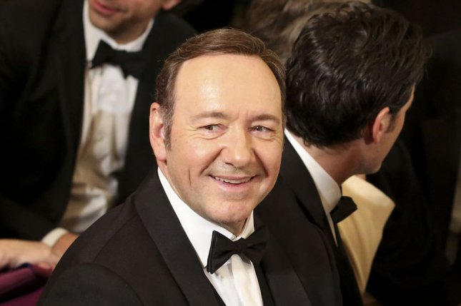 Kevin Spacey attends the Kennedy Center Honors reception on December 4, 2016. The actor will host the 2017 Tony Awards in June. File Photo by Aude Guerrucci/UPI