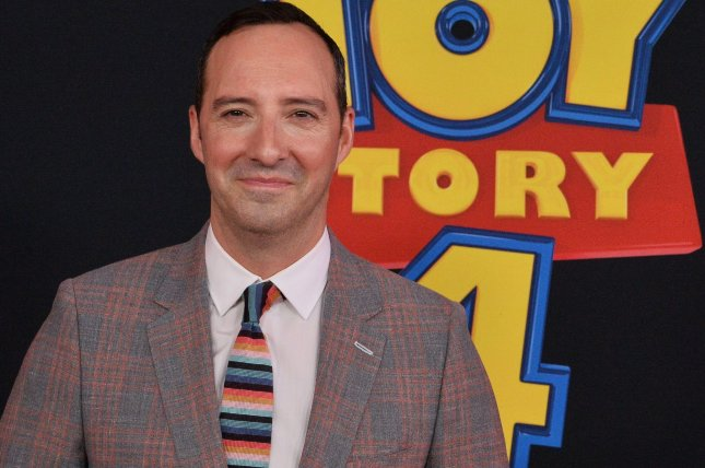 Tony Hale has booked the lead role in Hulu's Mysterious Benedict Society series. File Photo by Jim Ruymen/UPI