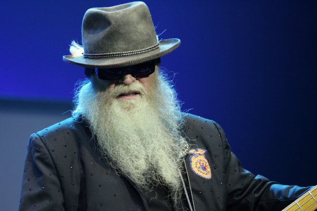 Dusty Hill with ZZ Top performs in concert at the Seminole Hard Rock Hotel and Casino in Hollywood, Fla., on June 8, 2011. Hill died Tuesday. File Photo by Michael Bush/UPI