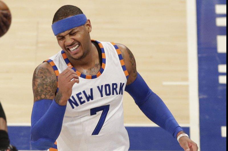 New York Knicks' Carmelo Anthony dismisses trade rumors - UPI com