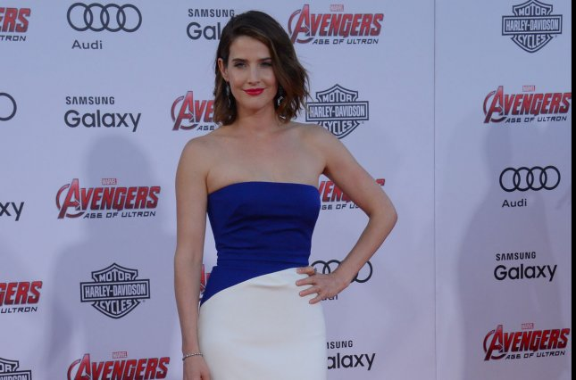 Cobie Smulders arrives on the red carpet for the premiere of the motion picture sci-fi thriller Avengers: Age of Ultron at the Dolby Theatre in the Hollywood section of Los Angeles on April 13, 2015. File Photo by Jim Ruymen/UPI