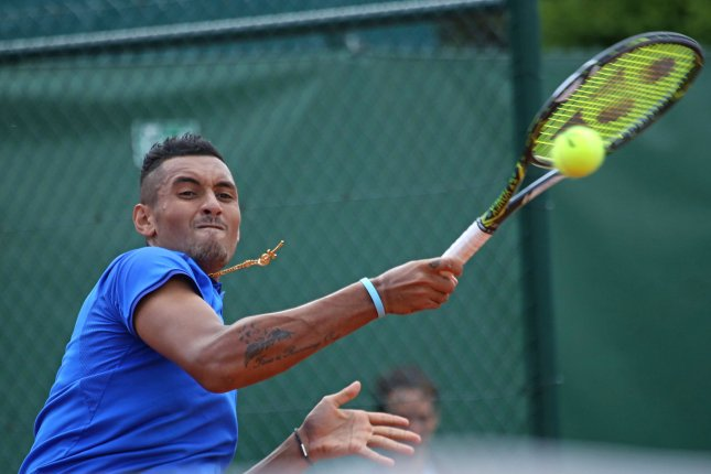 Nick Kyrgios sprays 'biased' umpire at Marseille Open