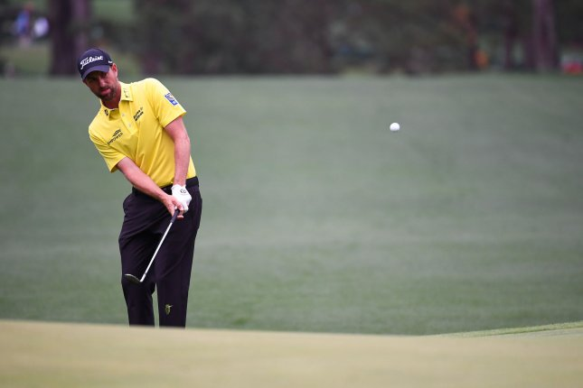 Webb Simpson (pictured) carded another 6-under 65 Friday to take a 1-stroke lead over Bryson DeChambeau and Corey Conners at the RBC Heritage. File Photo by Kevin Dietsch/UPI