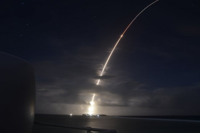 The Pentagon announced a missile defense review on Friday, following Senate testimony by Defense Department official Leonor Tomero. File Photo by Missile Defense Agency/UPI