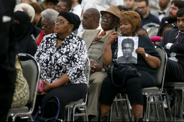 Thousands came out during the Muhammad Ali Jenazah prayer service at Freedom Hall in Louisville, Kentucky on June 9, 2016. The Louisville native and legendary boxer died at the age of 74 on Saturday, June 4th 2016. Photo by Aaron Borton/UPI
