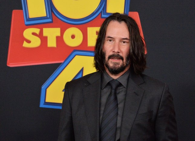 Actor Keanu Reeves is set to star in a fourth movie in The Matrix franchise. File Photo by Jim Ruymen/UPI