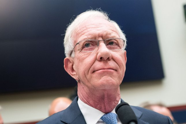 """Capt. Chesley """"Sully"""" Sullenberger, the retired US Airways captain known for the Miracle on the Hudson, testifies during a House Transportation Subcommittee hearing on the Boeing 737 MAX on Capitol Hill in Washington, D.C., on June 19, 2019. President Joe Biden nominated Sullenberger to serve as a representative on the Council of the International Civil Aviation Organization. FilePhoto by Kevin Dietsch/UPI"""