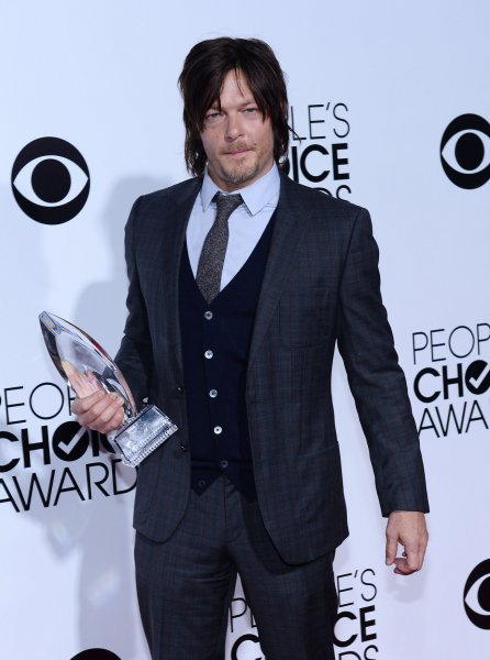 Actor Norman Reedus attends The 40th Annual People's Choice Awards at Nokia Theatre in Los Angeles on January 8, 2014. UPI/Jim Ruymen