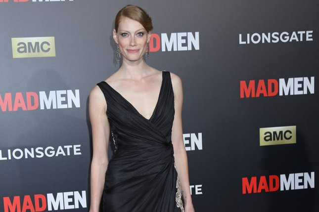 Alyssa Sutherland arrives on the red carpet of the Black & Red Ball celebrating the upcoming final season of the show Mad Men in Los Angeles on March 25, 2015. File Photo by David Silpa/UPI
