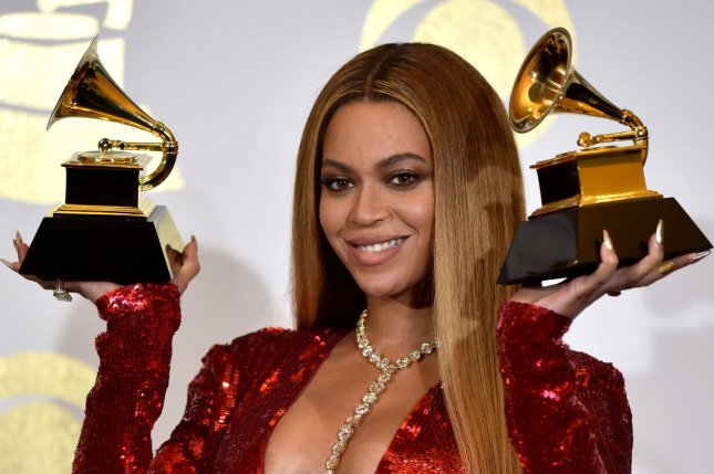 Beyoncé attends the Grammy Awards on February 12. The singer is reportedly being eyed for Disney's new Lion King. File Photo by Christine Chew/UPI