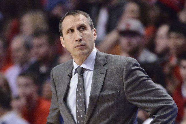 Former Cleveland Cavaliers head coach David Blatt led the team to the NBA Finals in 2015 before being fired the next season. File Photo by Brian Kersey/UPI