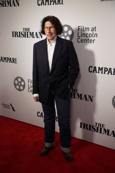 Fran Lebowitz arrives on the red carpet at the premiere of The Irishman at Alice Tully Hall on September 27, 2019, in New York City. The writer turns 70 on October 27. File Photo by Bryan Smith/UPI