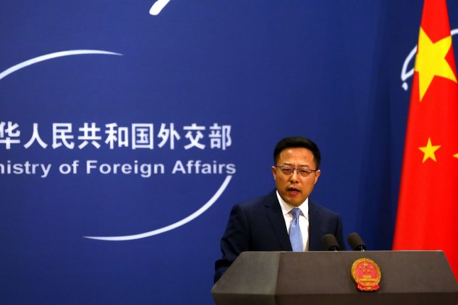 Chinese foreign ministry spokesman Zhao Lijian denied on Tuesday a recent report of problems at Taishan nuclear power plant in Guangdong Province. File Photo by Stephen Shaver/UPI