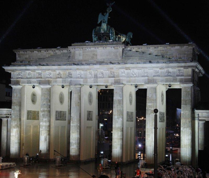 The Brandenburg Gate in Berlin. UPI/David Silpa/File