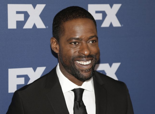 Sterling K. Brown arrives on the red carpet at the FX Networks upfront screening of The People v. O.J. Simpson: American Crime Story in New York City on March 30. Photo by John Angelillo/UPI