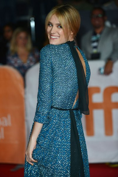 Mackenzie Davis attends the world premiere of The Martian at Roy Thomson Hall in Toronto in 2015. Davis has joined the cast of the Blade Runner sequel. File Photo by Christine Chew/UPI